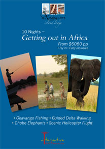 Okavango Delta, Botswana, Nxamaseri  - Botswana Packages - Getting out in Africa Package