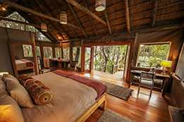 Okavango Delta, Botswana, Nxamaseri - Private Lodge